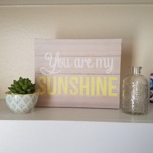 """""""You Are My Sunshine"""" Canvas Wall Art"""